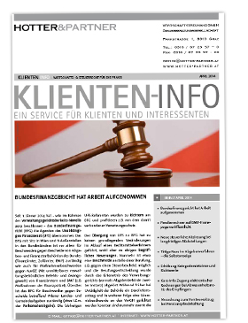 Cover Klienten-Info April 2014