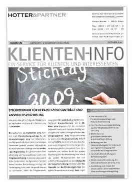 Cover Klienten-Info September 2014