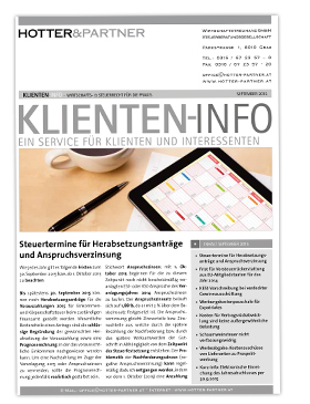 Cover Klienten-Info September 2015