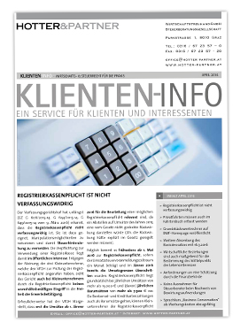 Cover Klienten-Info April 2016